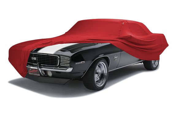 Bright Red Form-Fit Car Cover Swatch