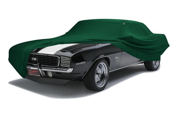 Hunter Green Form-Fit Car Cover Swatch