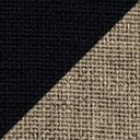 BEIGE INSERT WITH BLACK TRIM material swatch