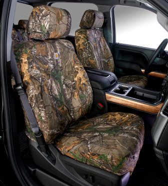 RealTree® Xtra Brown Seat Covers by Carhartt&;reg