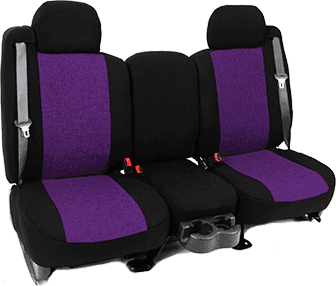 PURPLE INSERT WITH BLACK TRIM