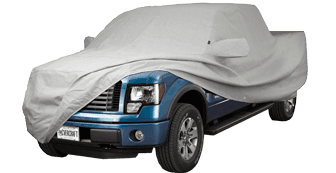 Multibond Gray - Wolf® Ready-Fit Truck Cover without Mirror Pockets
